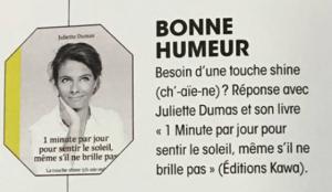 Mon livre dans Madame Figaro